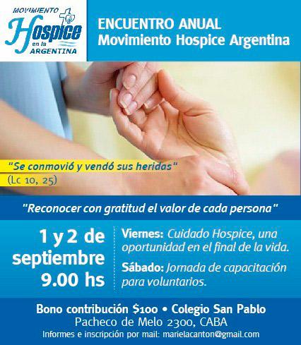 Encuentro anual del Movimiento Hospice Argentina